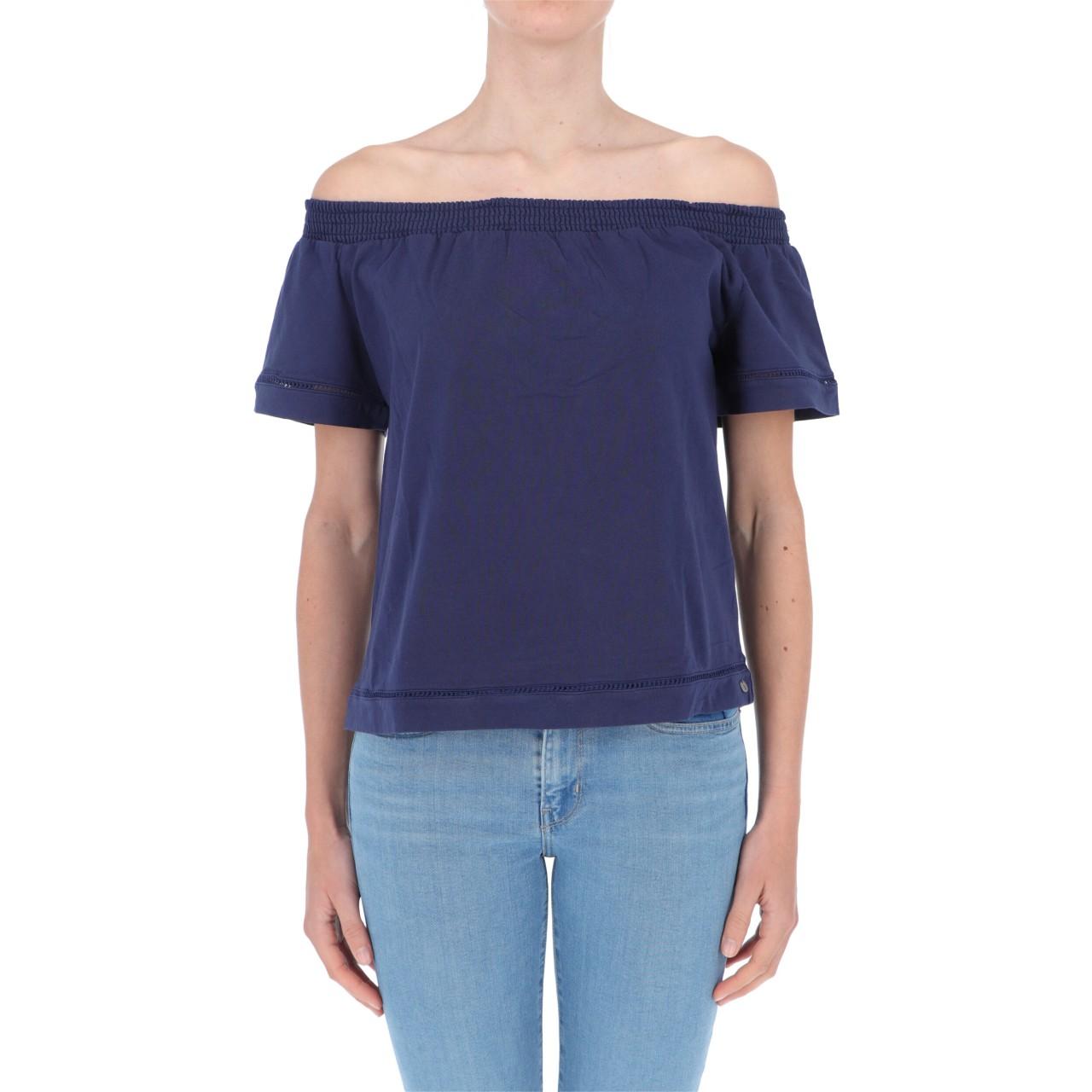 Surkana T-shirt Surkana Donna Scollo Bardot NAFO012P