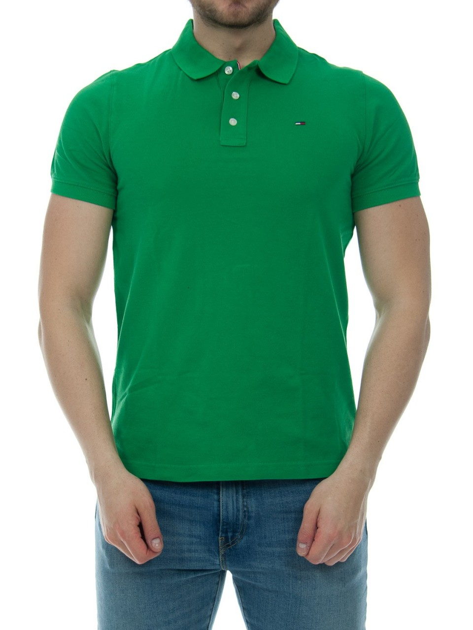 Tommy hilfiger Polo Uomo Tommy Hilfiger Jeans Piquet Classic 00488H