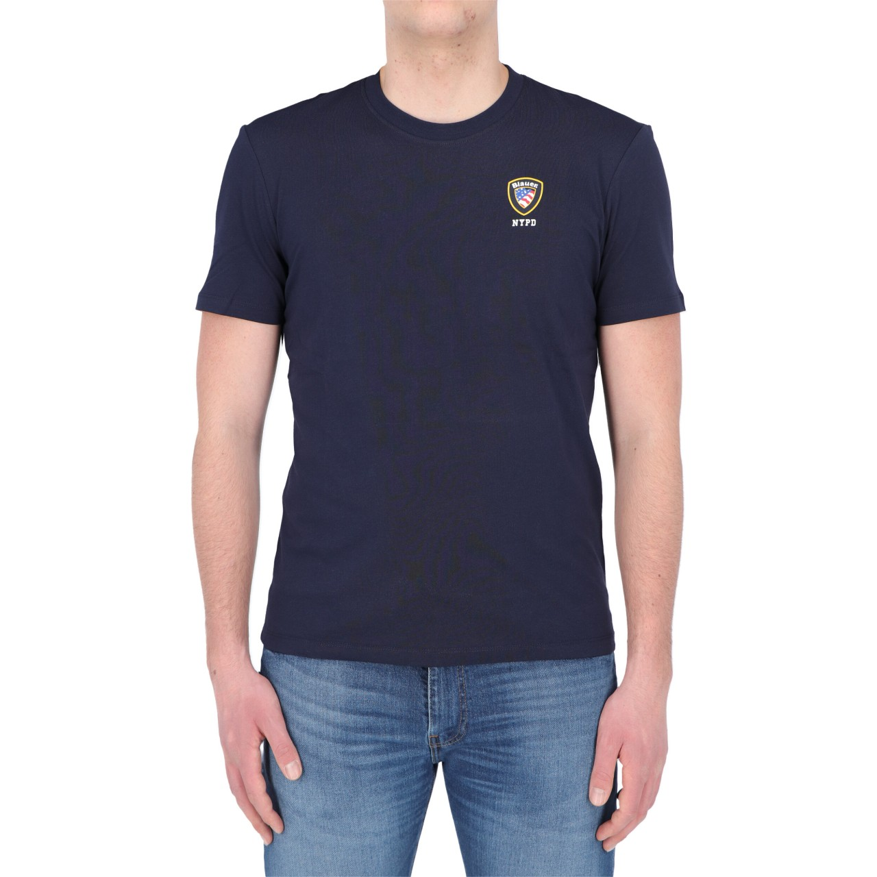 Blauer Uomo Tshirt Blauer Usa Uomo Cotone Stampa 2130P