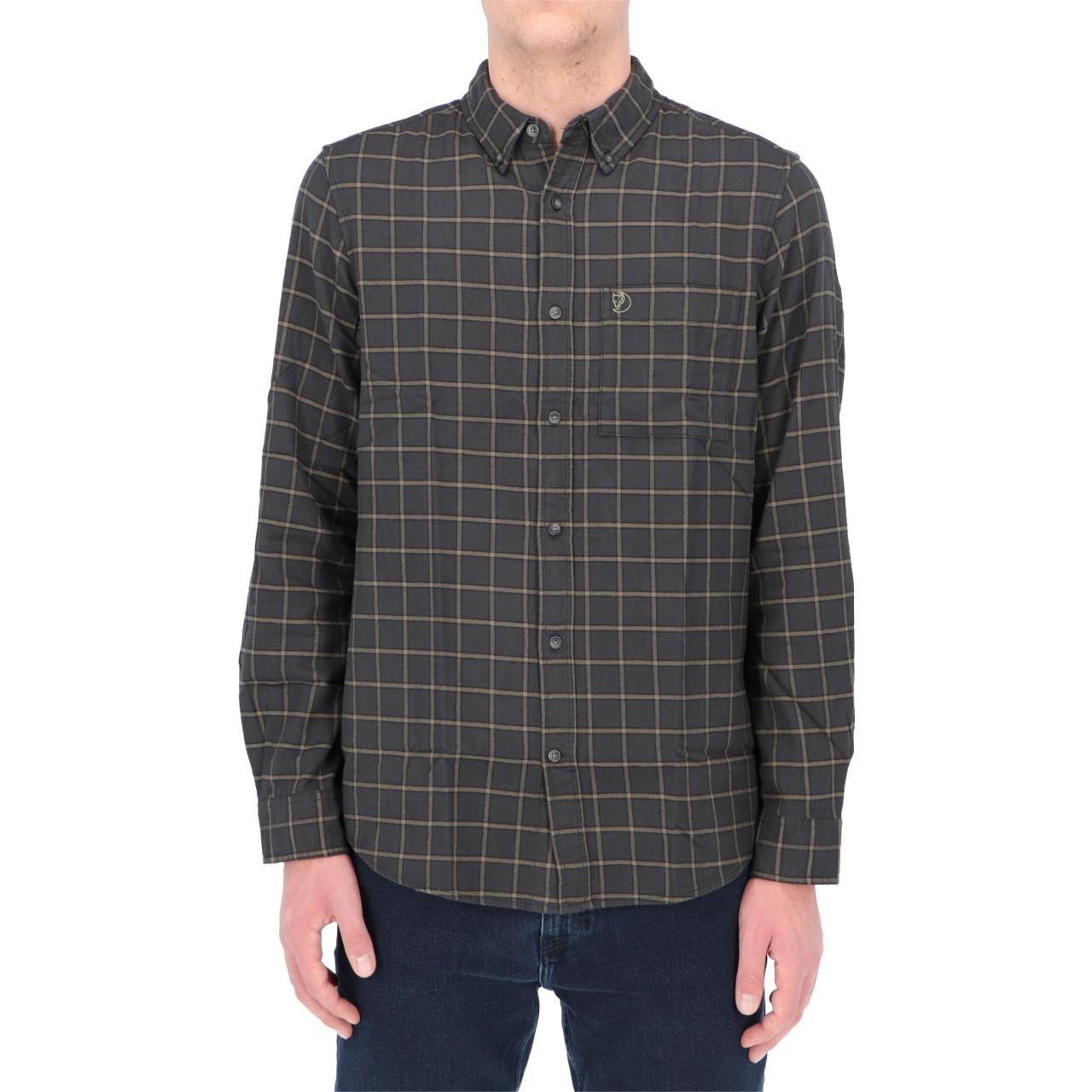Fjallraven Uomo Camicia Fjallraven Uomo Ovik Flannel Shirt OVIKFO
