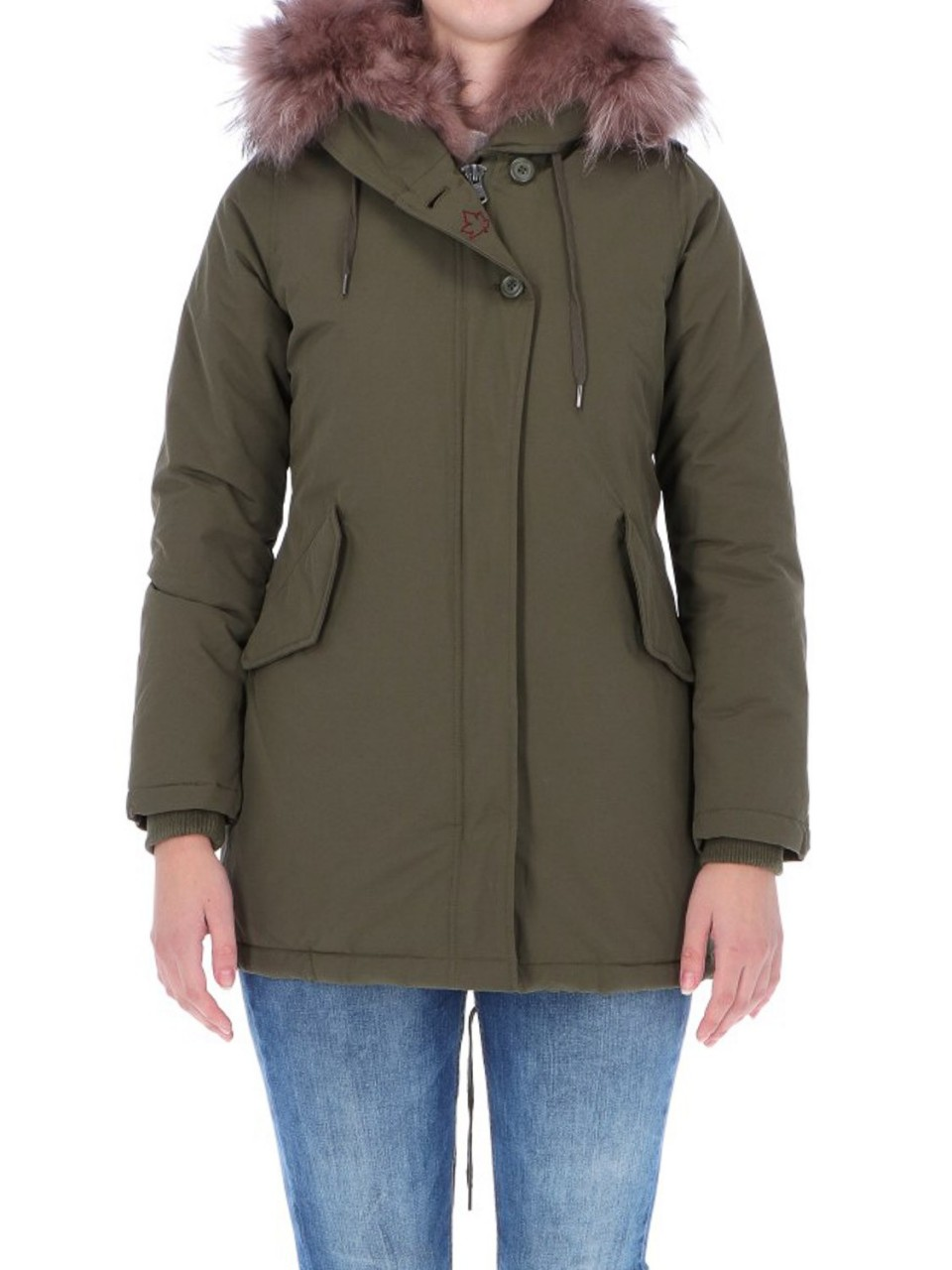 Canadian Donna Giacca Donna Canadian Classic Sonora Real Fur SONORAI