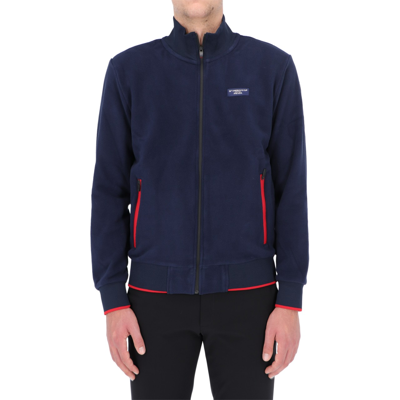 North sails x prada Uomo Felpa North Sails Prada Uomo Kurow Coppa America Zip KUROWO