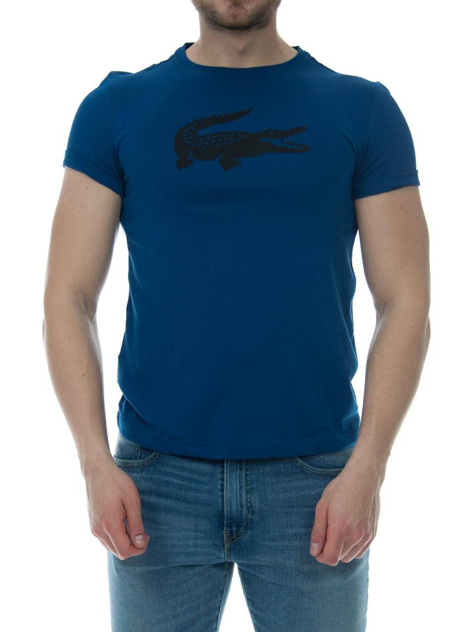 Lacoste Uomo Tshirt Lacoste Uomo Logo Cotone 3382H