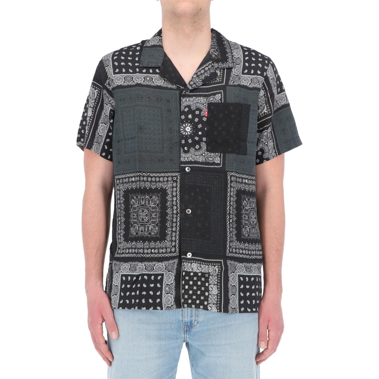 Levi's Uomo Camicia Levi's Uomo Cubano Shirt Multibandana 72625P