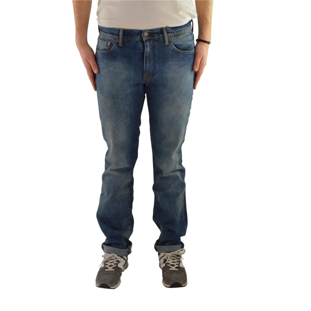 Levi's Uomo Jeans Levi's Uomo 511 Slim Fit Hagiwara 5111632B