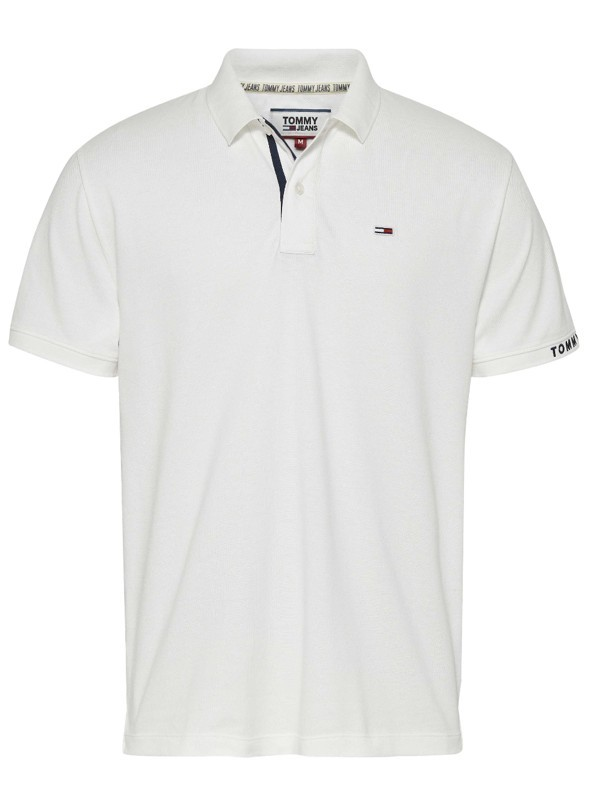 Tommy hilfiger Uomo Polo Tommy Hilfiger Jeans Pique Branded Rib 07802N
