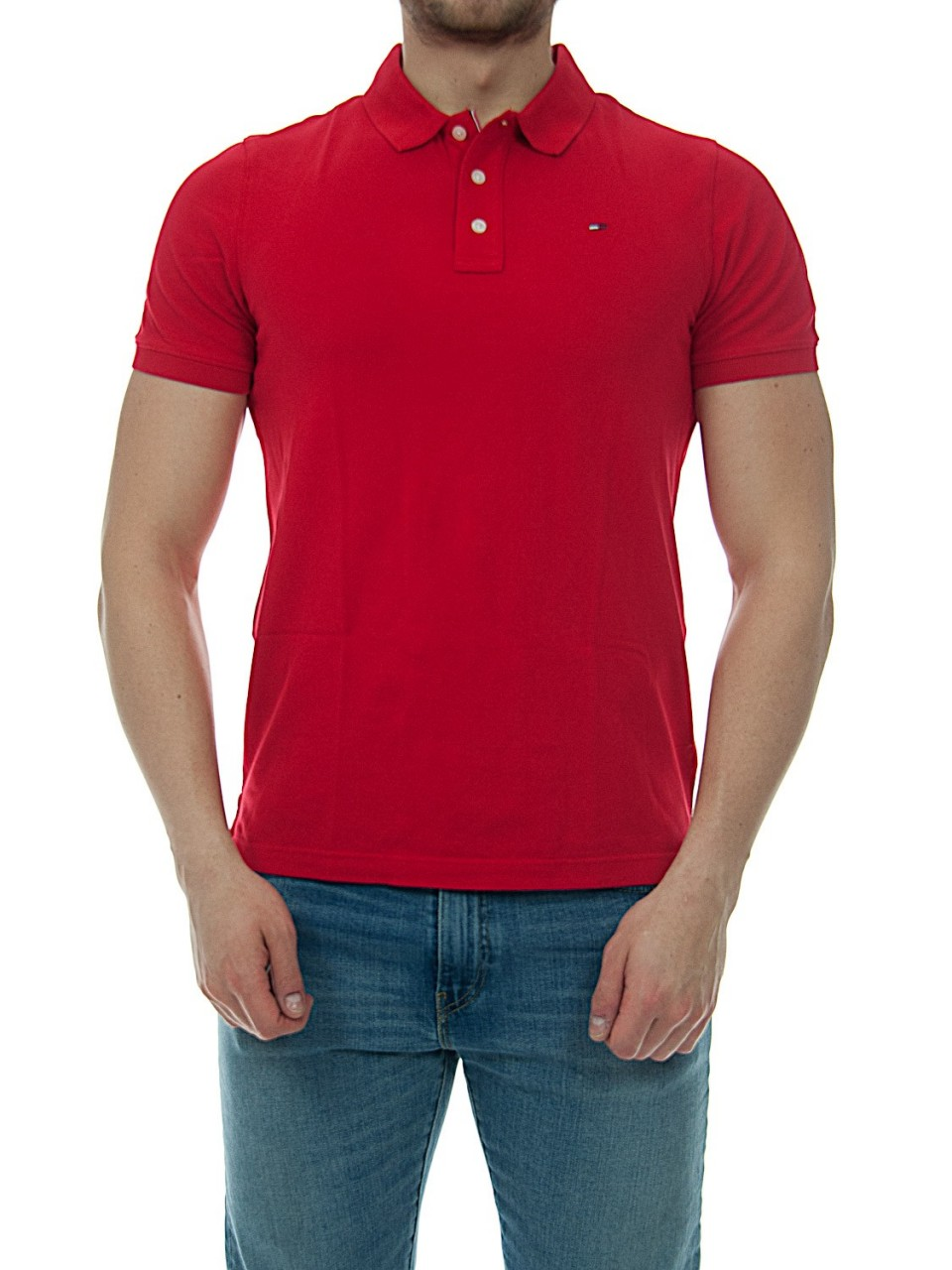 Tommy hilfiger Uomo Polo Uomo Tommy Hilfiger Jeans Piquet Classic 00488H