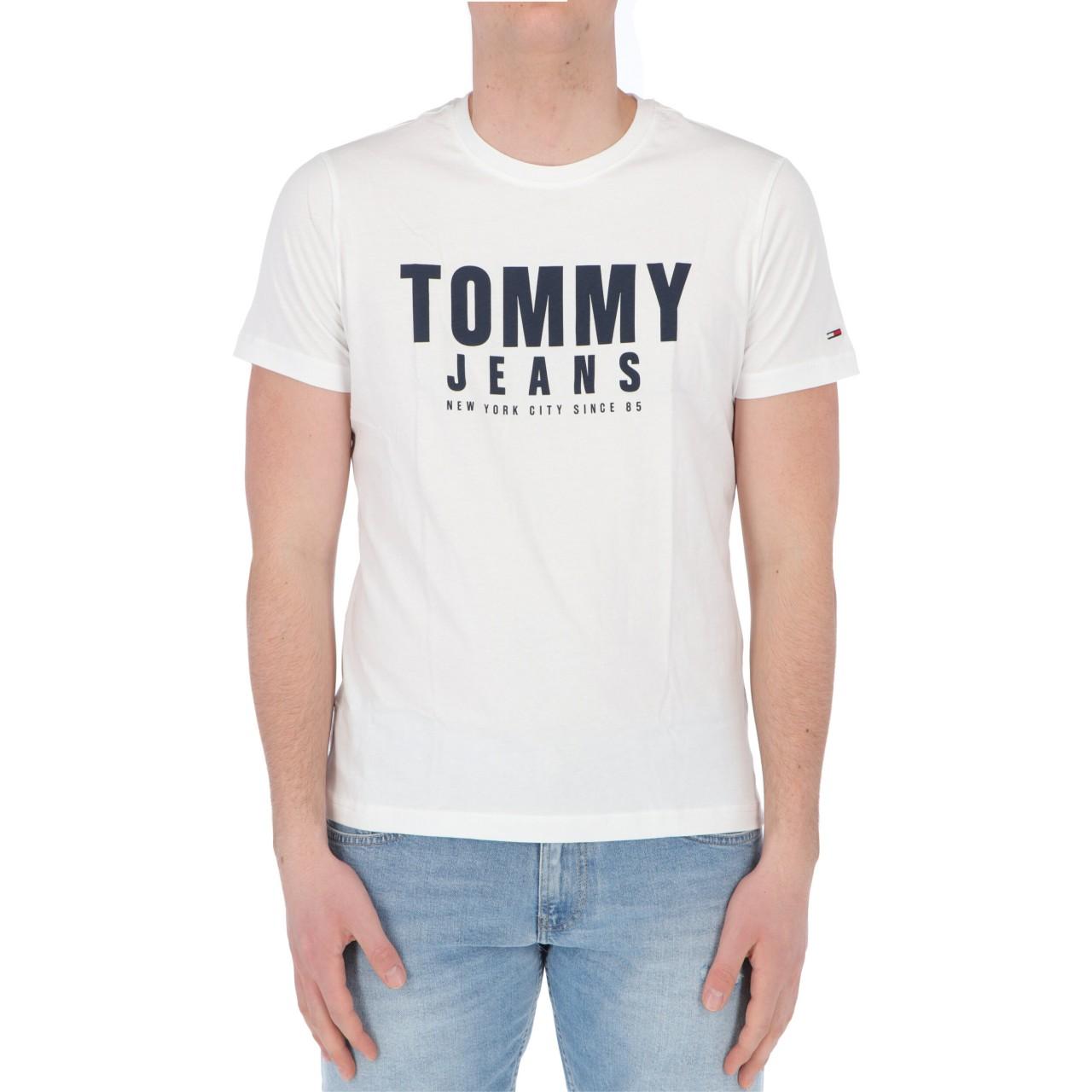 Tommy hilfiger Uomo Tshirt Tommy Hilfiger Jeans Uomo Center Chest Tommy 10243P