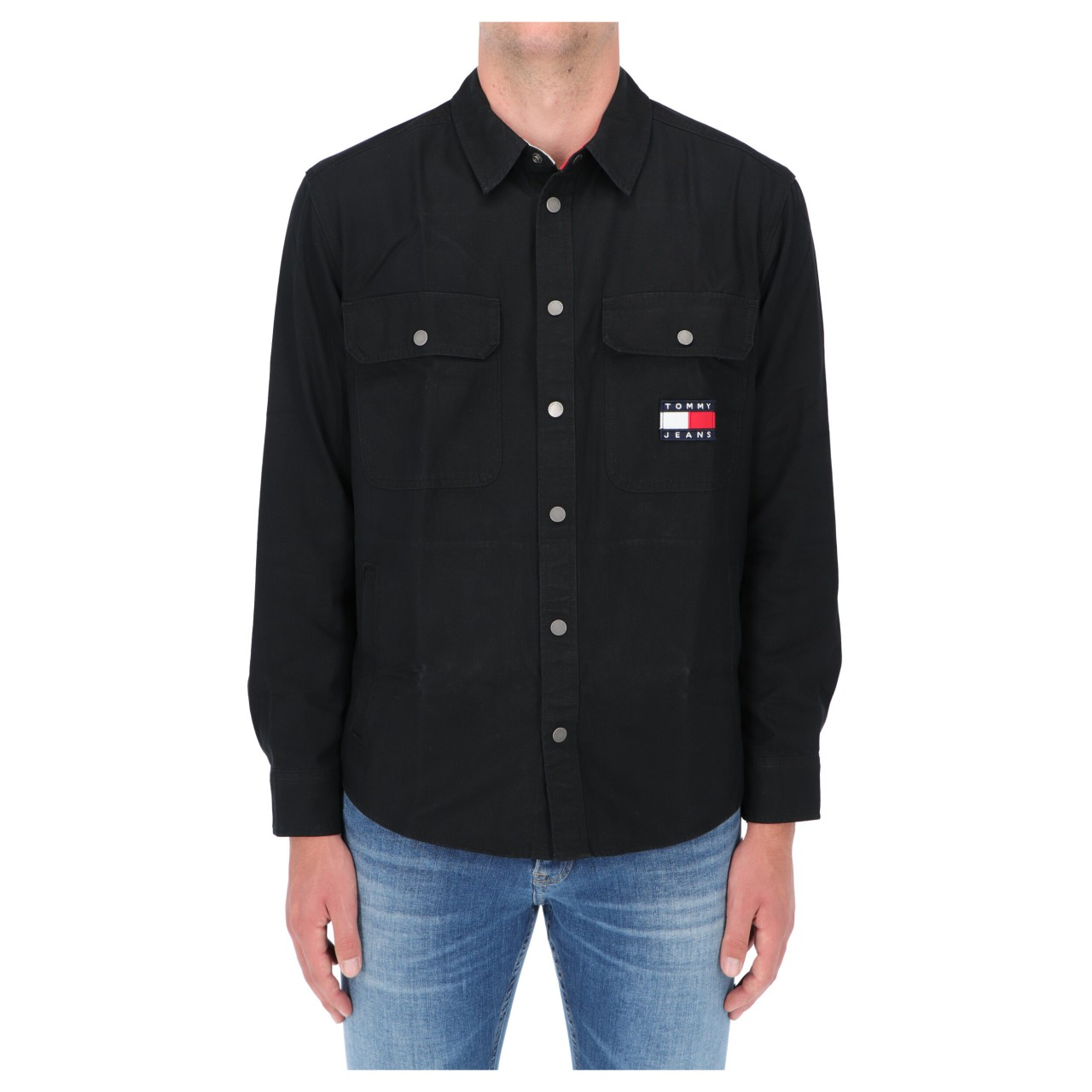 TOMMY HILFIGER Camicia Tommy Hilfiger Jeans Overshirt Faded Flag 11059Q