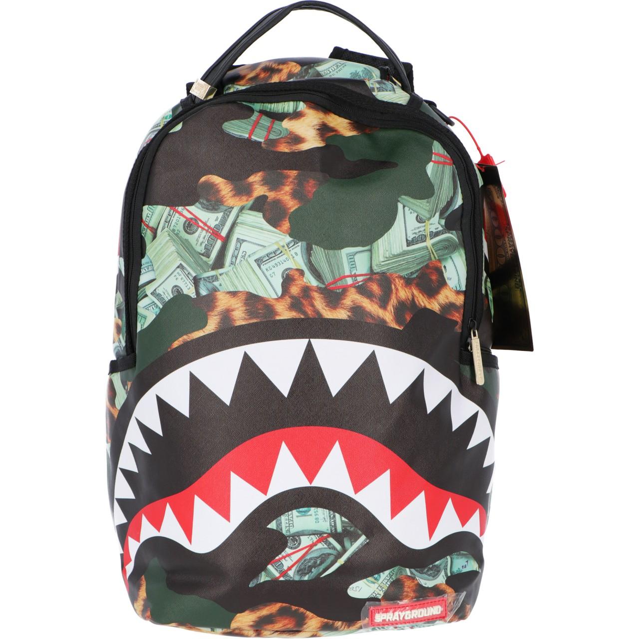 Sprayground Uomo Zaino Sprayground Hero Shark Backpack 3031O