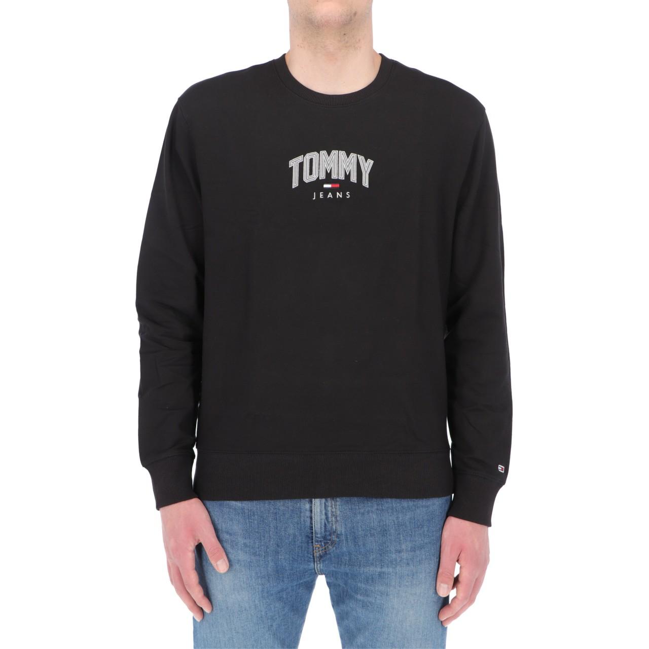 Tommy hilfiger Uomo Felpa Tommy Hilfiger Jeans Uomo Lightweight 10627P