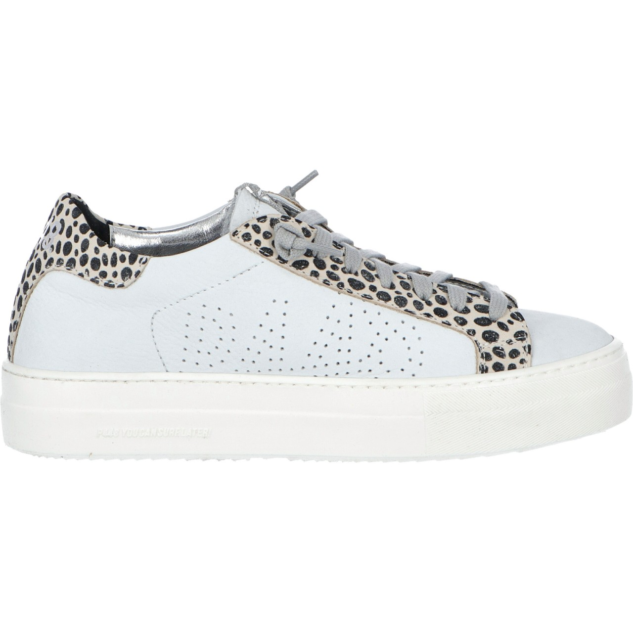 P448 Donna Scarpe P448 Donna Thea White Iena Made In Italy THEAIENAP