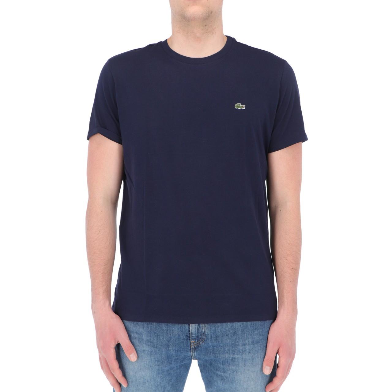 Lacoste Uomo Tshirt Lacoste Uomo Th6709 Classic Logo 6709P