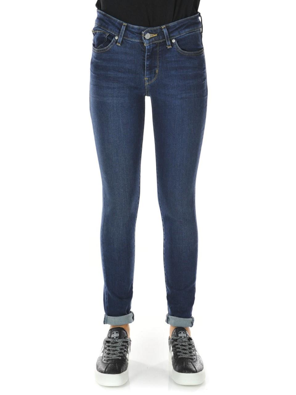 Levi's Donna Jeans Levi's Donna 711 City Blues Skinny L 30 8810196I