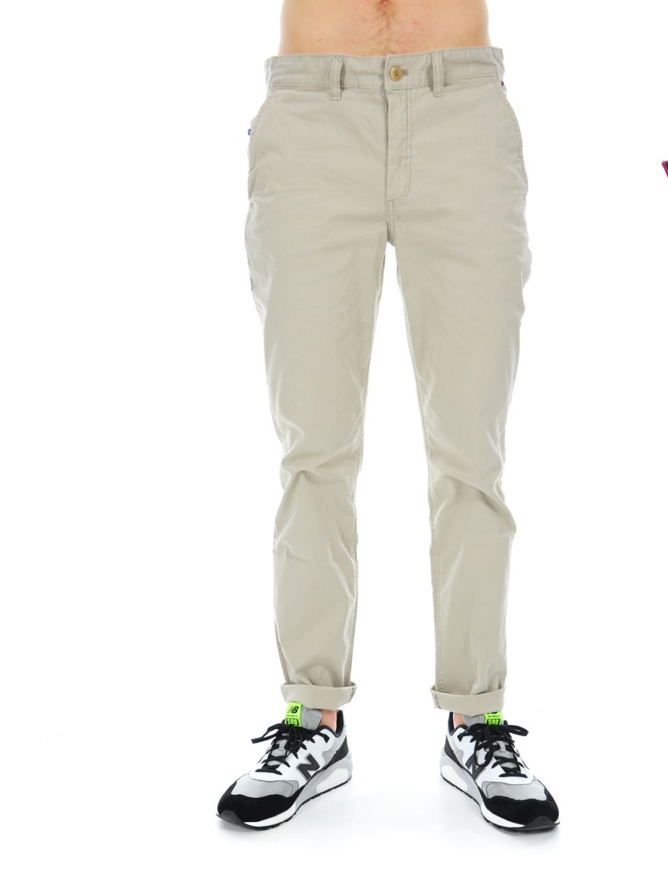 Tommy hilfiger Pantalone Uomo Tommy Hilfiger Cotone Stretch FREDDYD