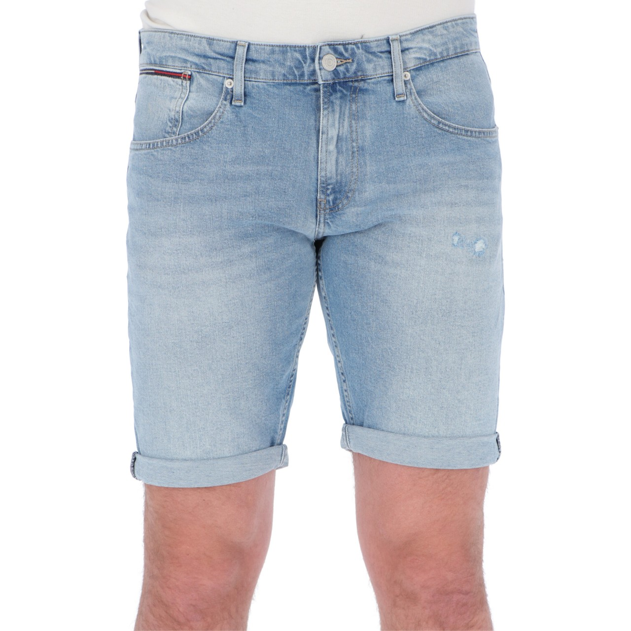 Tommy hilfiger Uomo Shorts Tommy Hilfiger Jeans Uomo Ronnie Relaxed Denim 10555P