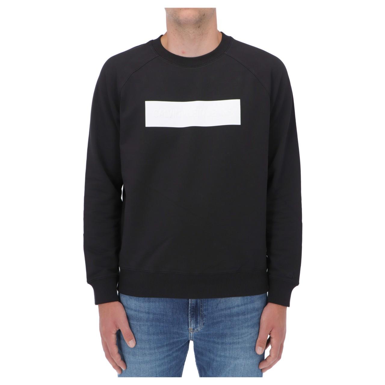 Calvin klein jeans Felpa Calvin Klein Jeans Uomo Blocking Logo Crew Neck 18170Q