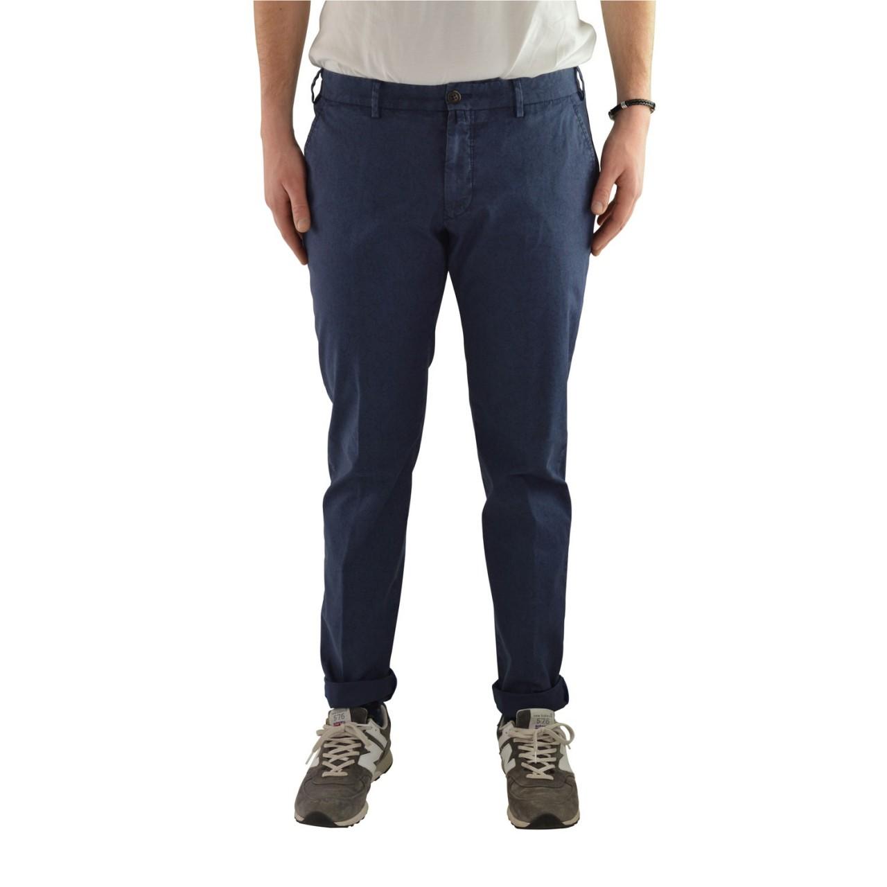 Verdera Uomo Pantalone Verdera Uomo Superslim Fantasia Stretch 500280