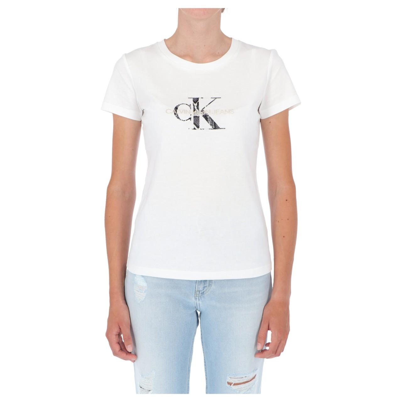 Calvin klein jeans Tshirt Calvin Klein Jeans Donna Seasonal Filled Monog 16250Q