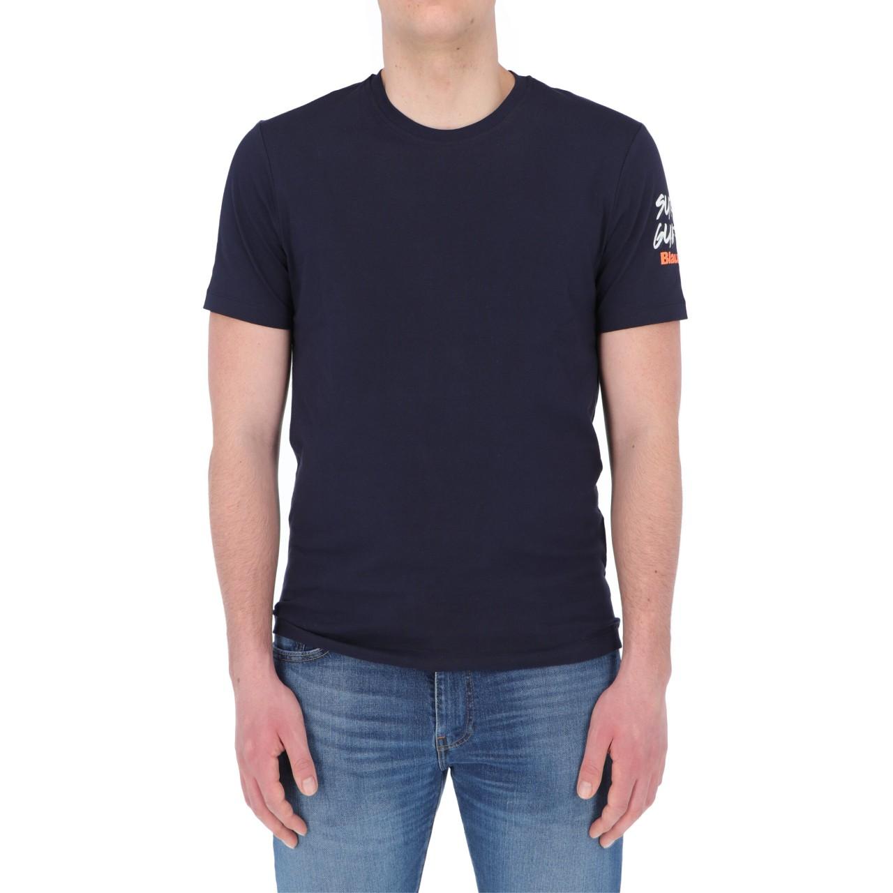 Blauer Uomo Tshirt Blauer Usa Uomo Cotone Stampa 2416P