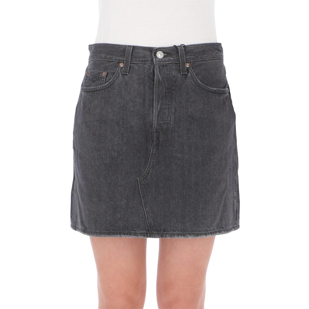 Levi's Donna Gonna Levi's Donna Jeans Hr Decon Icnic Bfly Skirt 77882P