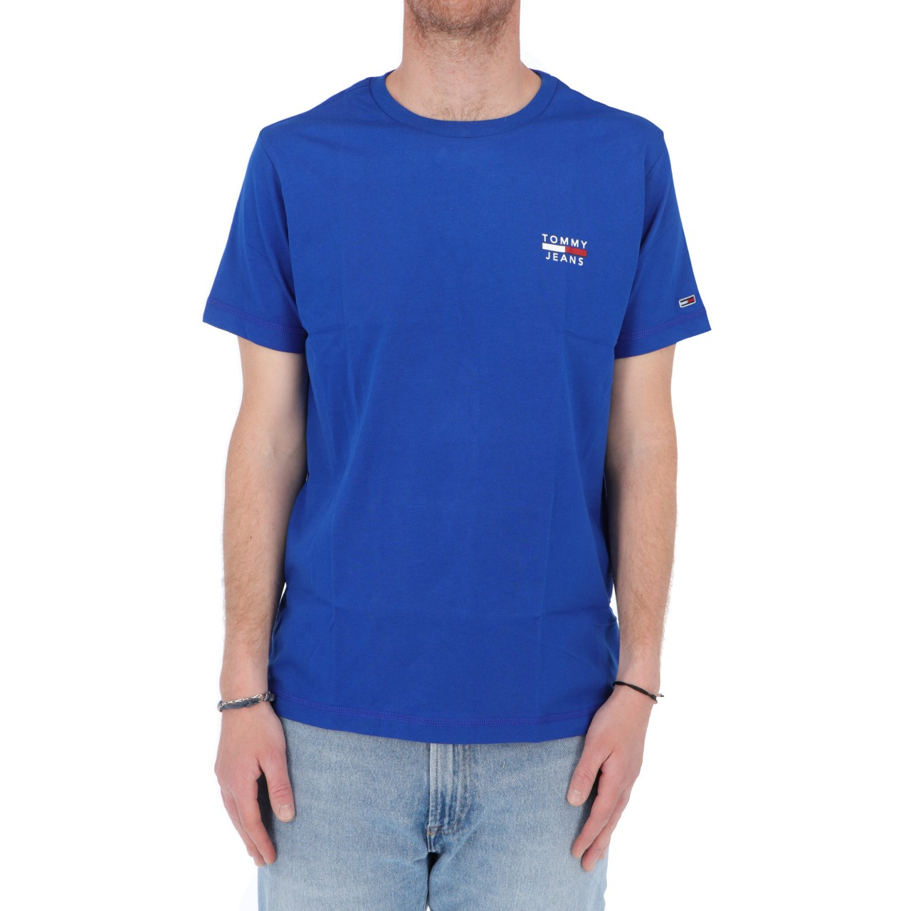 Tommy hilfiger Uomo Tshirt Tommy Hilfiger Jeans Uomo Chest Logo Tee 10099P