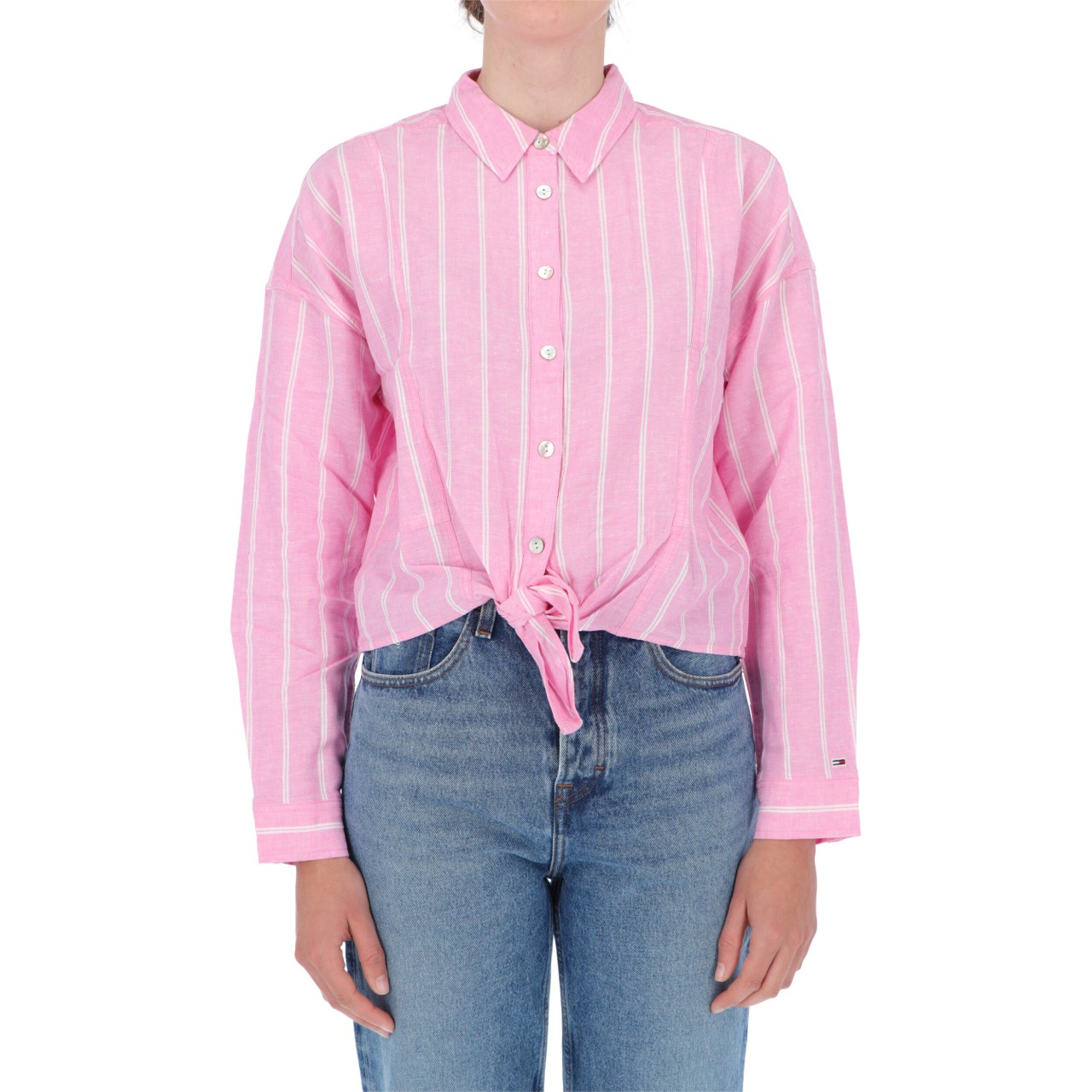 Tommy hilfiger Donna Camicia Tommy Hilfiger Jeans Donna Tjw Relaxed Front 09758P