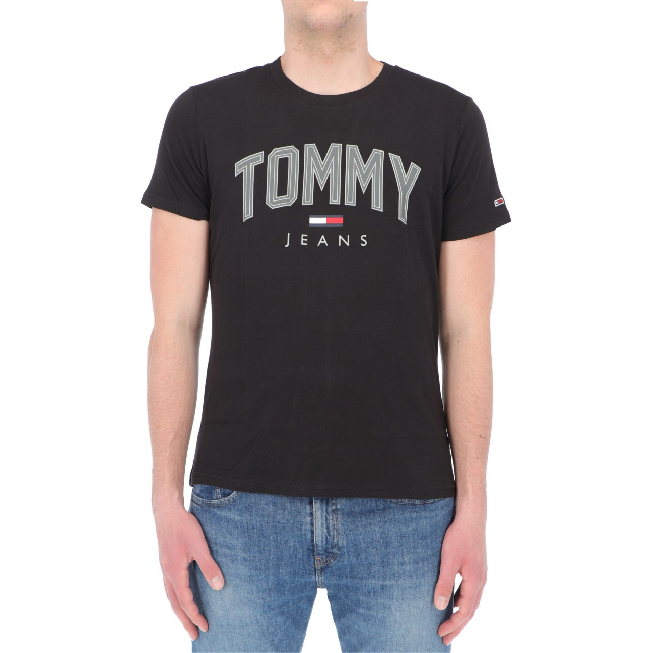 Tommy hilfiger Uomo Tshirt Tommy hifilger Jeans Uomo Shadow Tommy 10226P