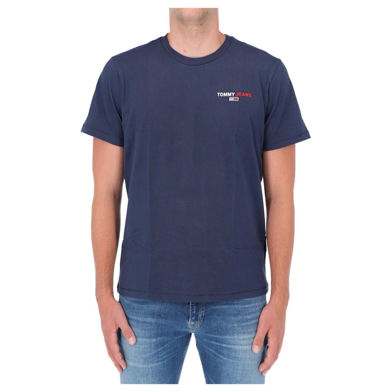 Tommy hilfiger Uomo Tshirt Tommy Hilfiger Jeans Uomo Tjm Chest Crop Tee 09401Q
