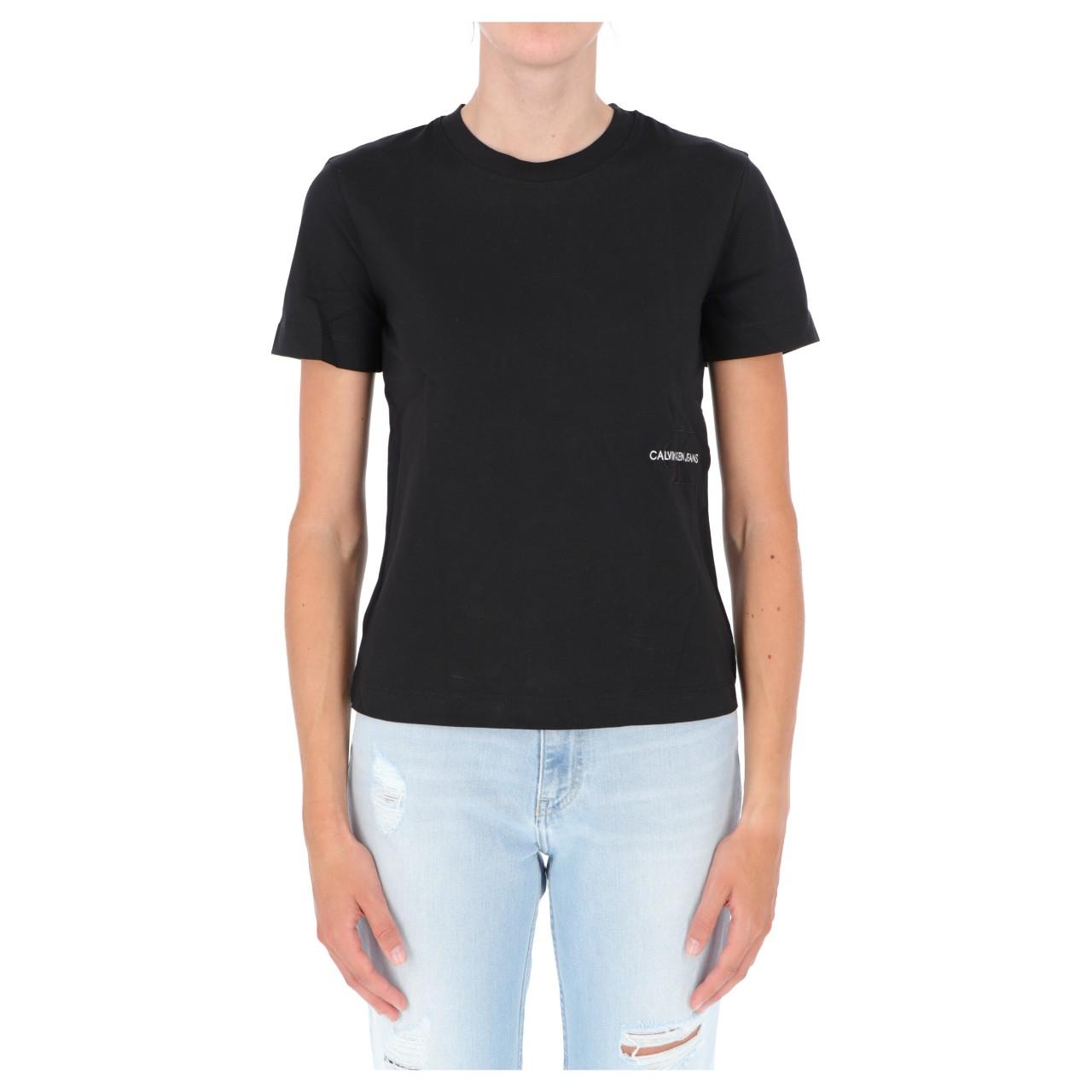 Calvin klein jeans Tshirt Calvin Klein Jeans Donna Off Placed Monogram 16469Q