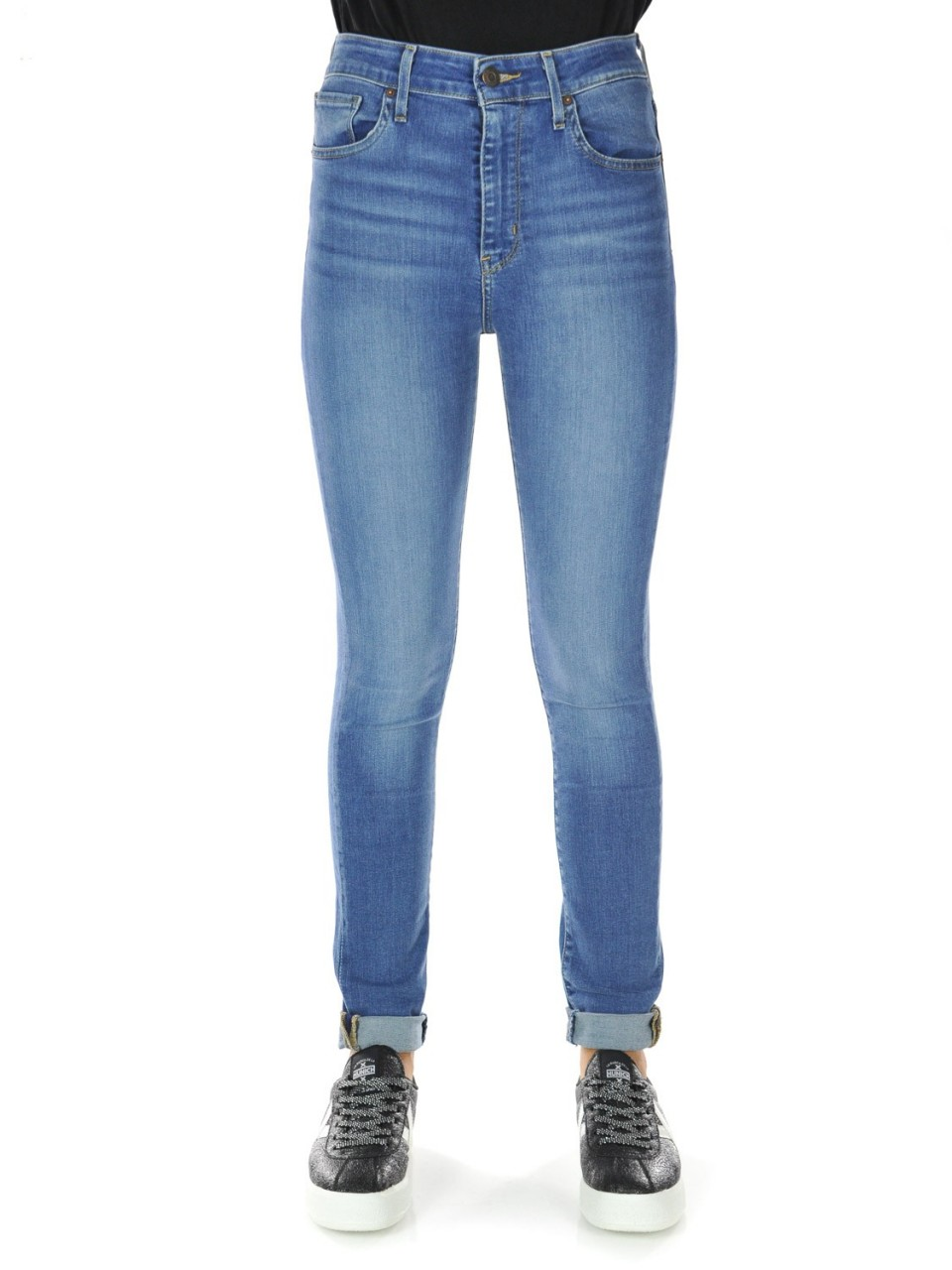Levi's Donna Jeans Levi's Donna 721 High Rise Skinny Dustitw L 30 8820130I