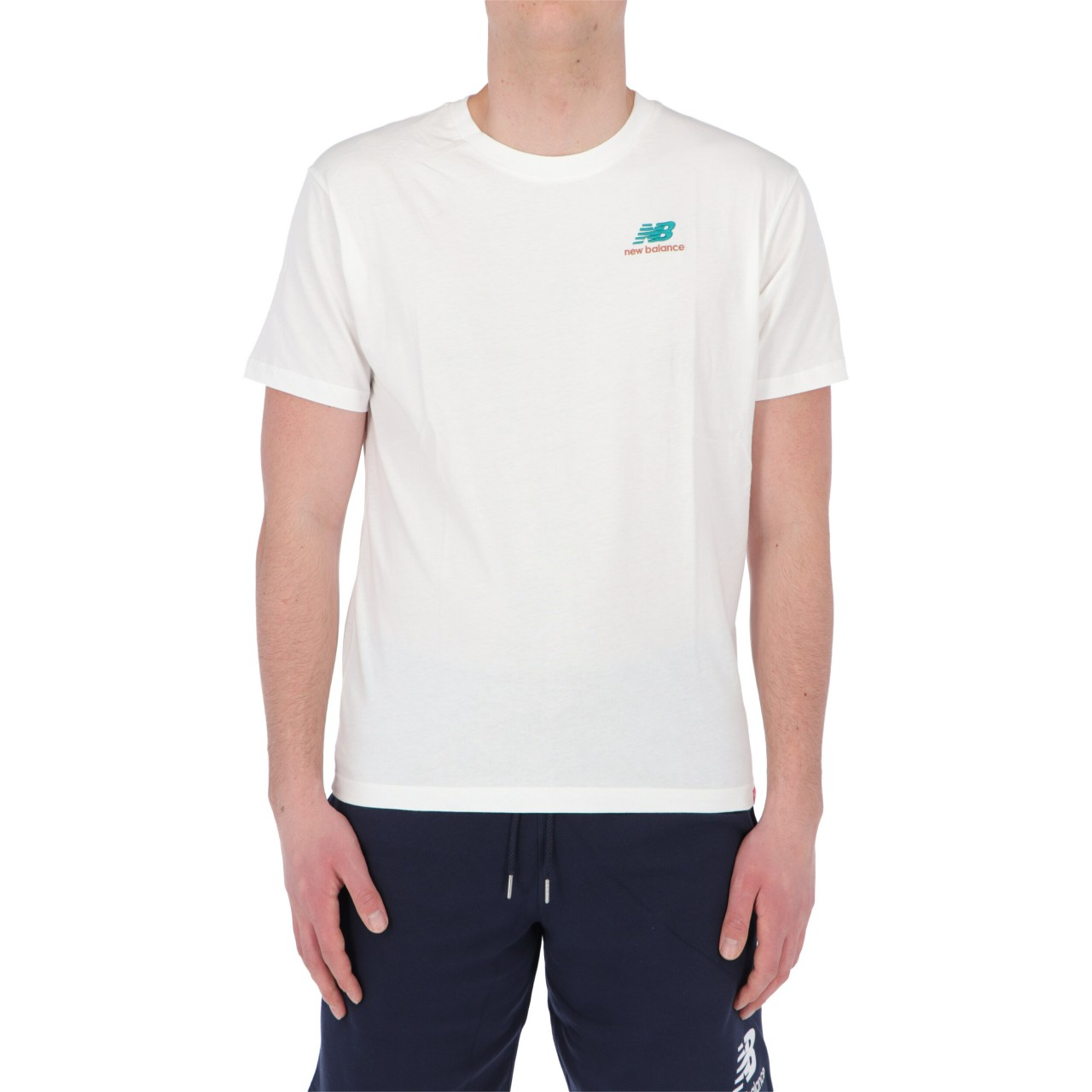New balance Uomo Tshirt New Balance Uomo Essential Embroidered Tee 11592P