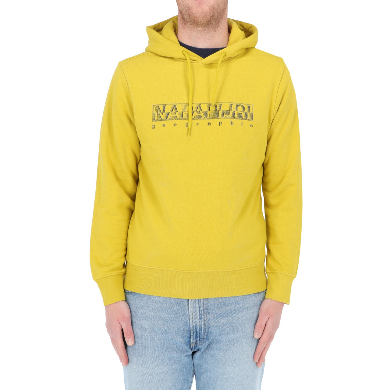 Napapijri Uomo Felpa Napapijri Uomo Logo Cappuccio Ballar Hood BALLARHP