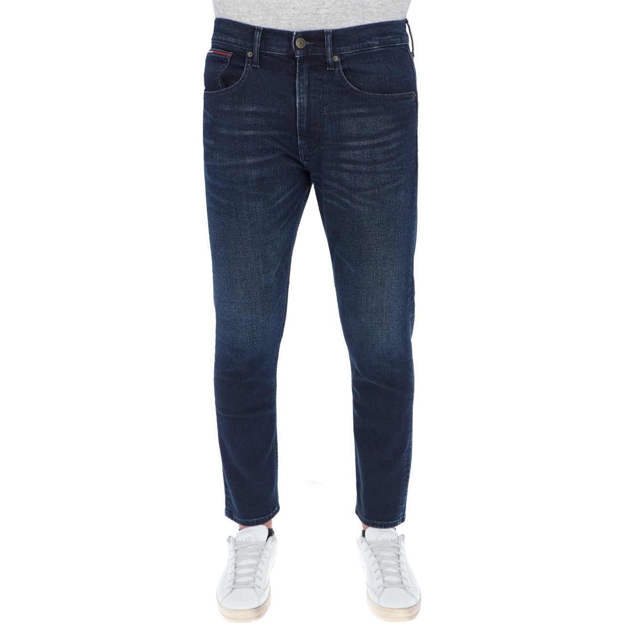 Tommy hilfiger Uomo Jeans Tommy Hilfiger Jeans Uomo Rey Relaxed Taper L32 11108Q