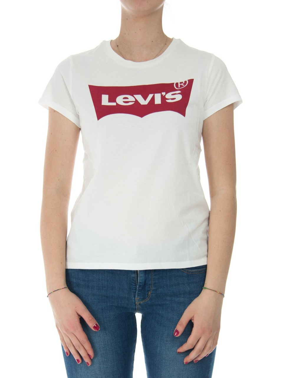 Levi's Donna T-shirt Donna Levi's Logo Batwing The Perfect Tee 17369H