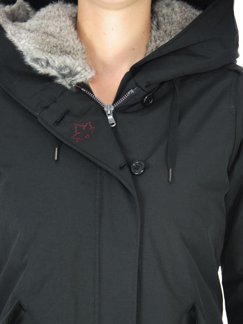 Canadian Donna Giacca Canadian Donna Parka Fake Fure LANIGANM