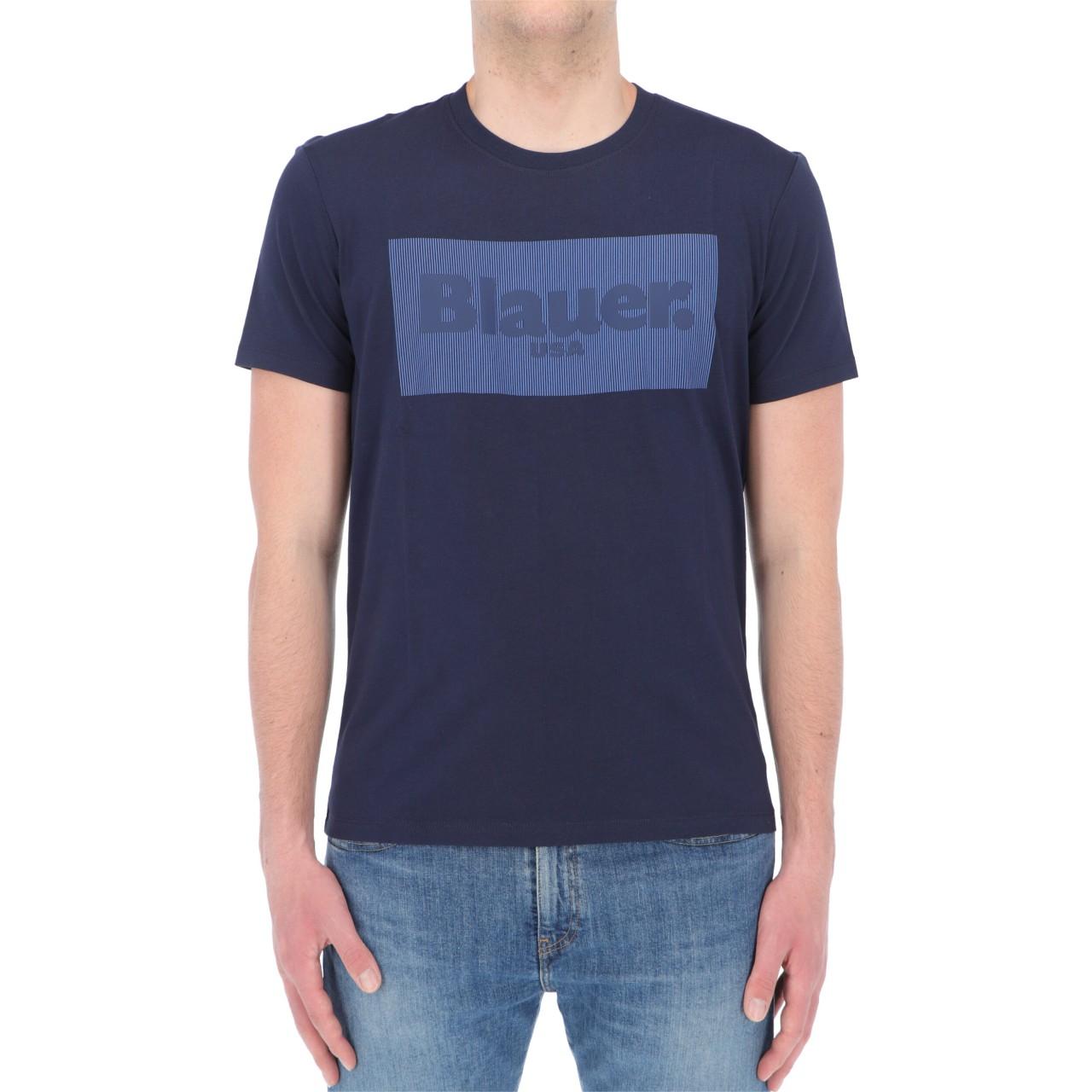 Blauer Uomo Tshirt Blauer Usa Uomo Cotone Stampa 2133P