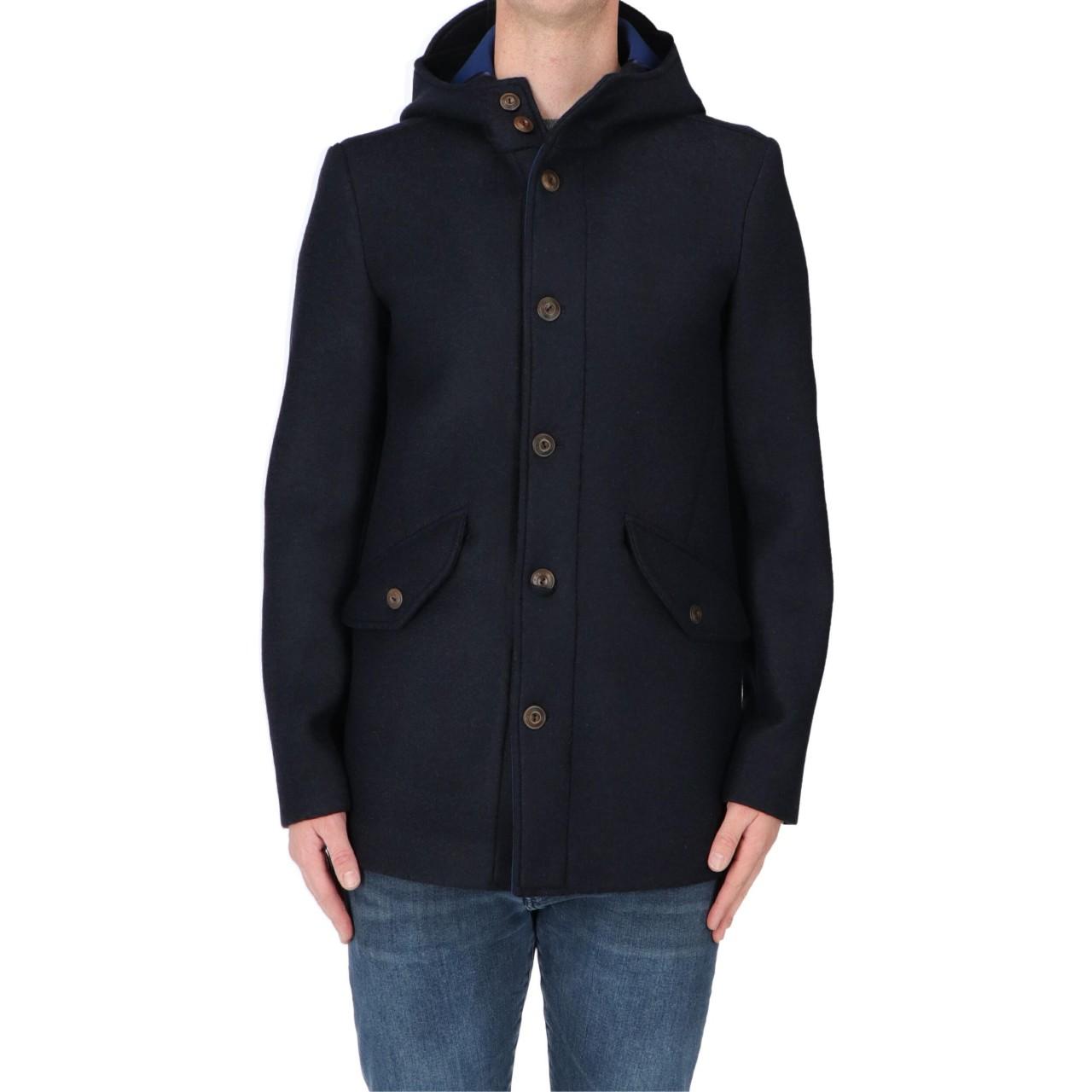 Ero jacket Uomo Giacca Ero Jacket Uomo Lana Cotta Neoprene Cappuccio ERO1106M