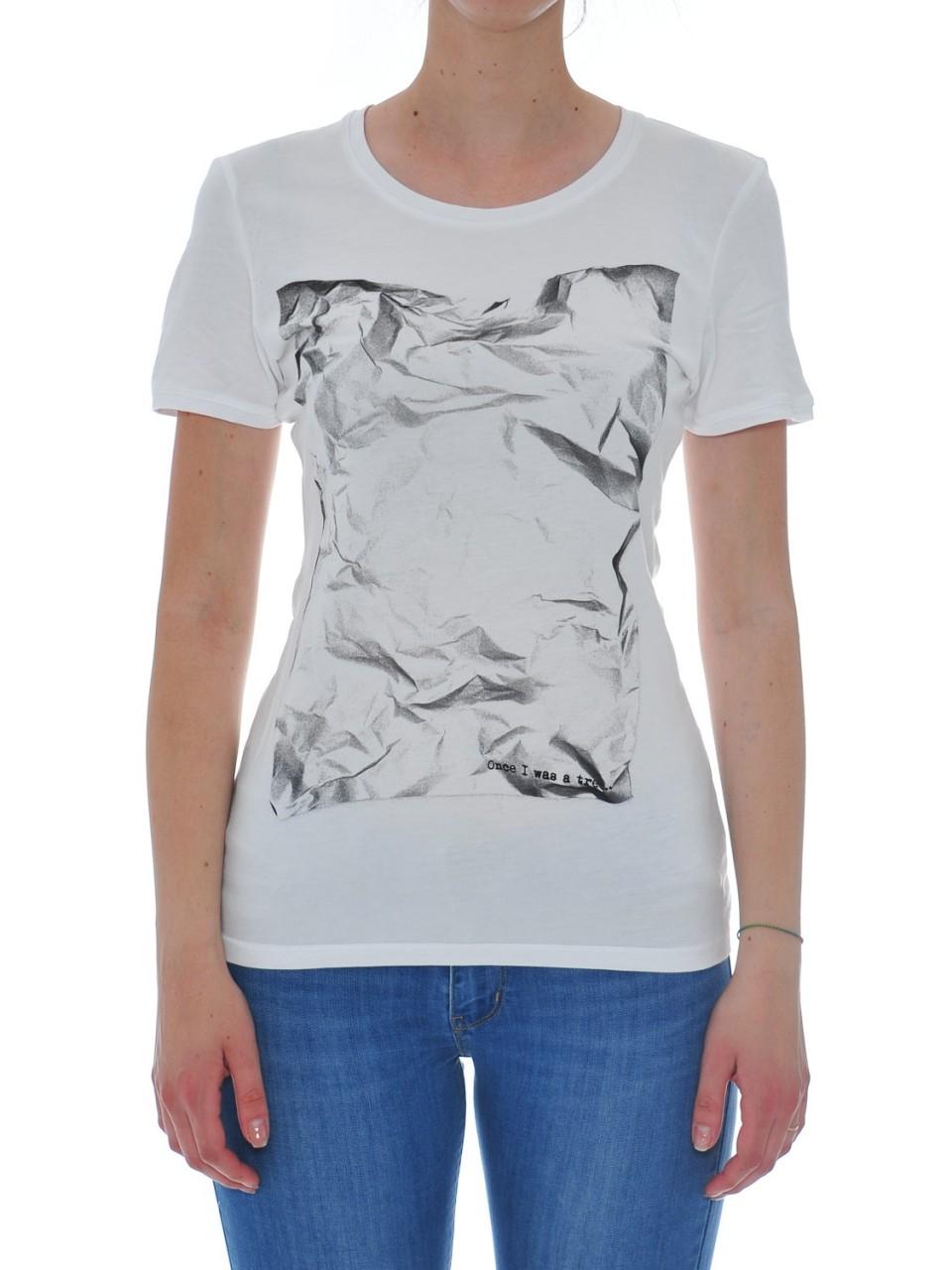 Rebello Donna Tshirt Donna Rebello Bamboo Cotone Organico Tw01 DENISEF