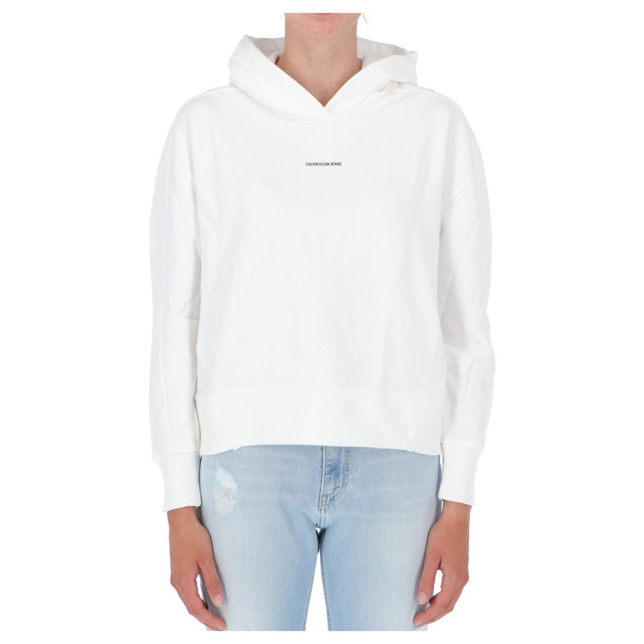 Calvin klein jeans Felpa Calvin Klein Jeans Donna Micro Branding Hoodie 15462Q