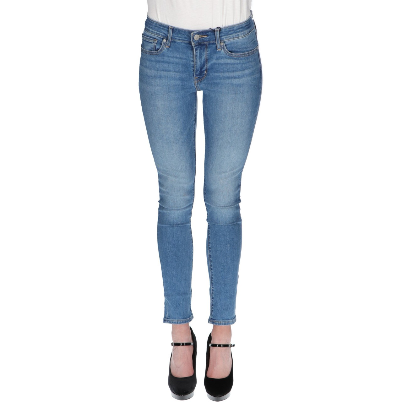 Levi's Donna Jeans Levi's Donna 711 Skinny All Play L 30 8810290L