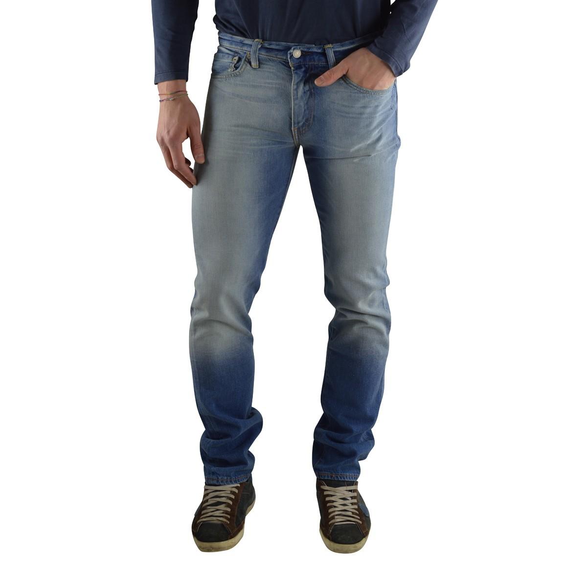 Levi's Uomo Jeans Levi's 511 Slim Fit Homie Uomo 5111098A