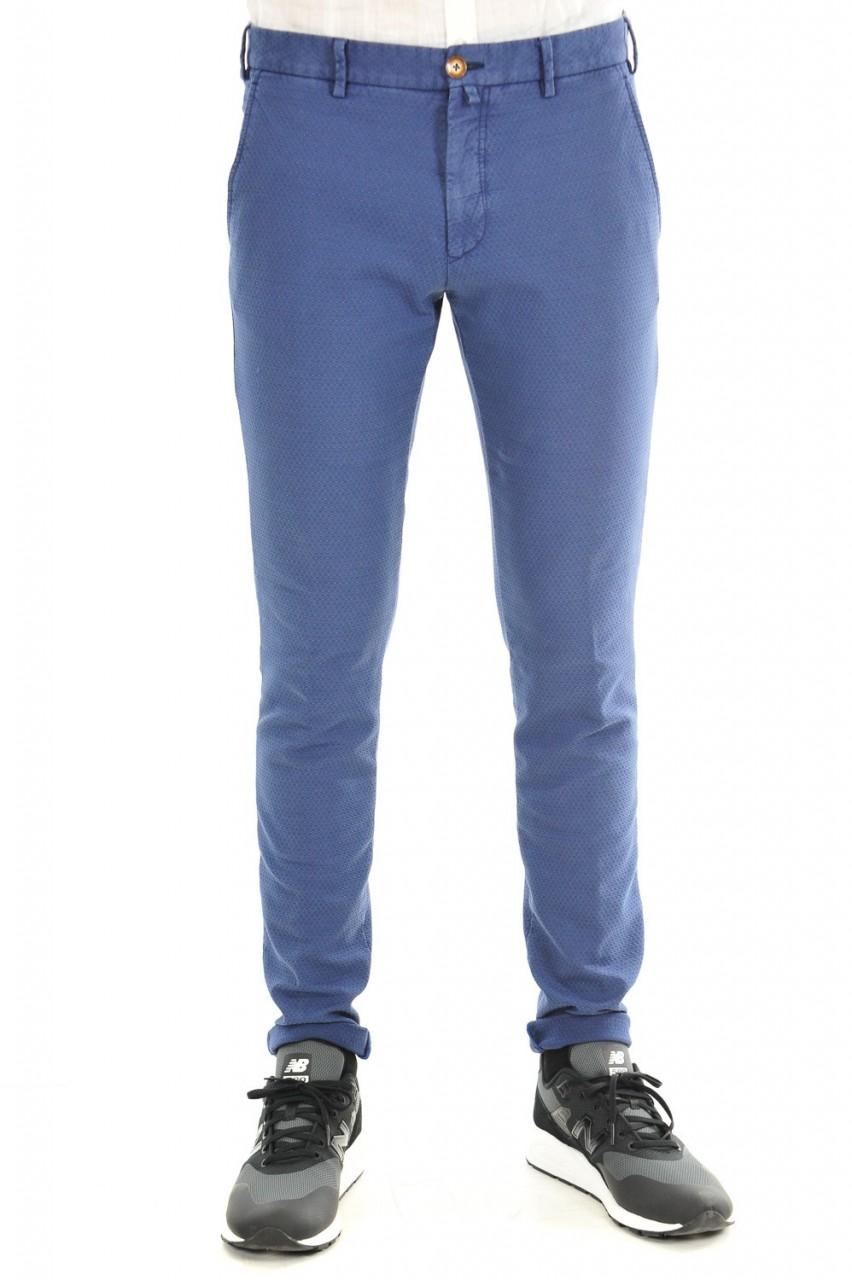 Verdera Uomo Pantalone Verdera Uomo Slim Operato 500140E