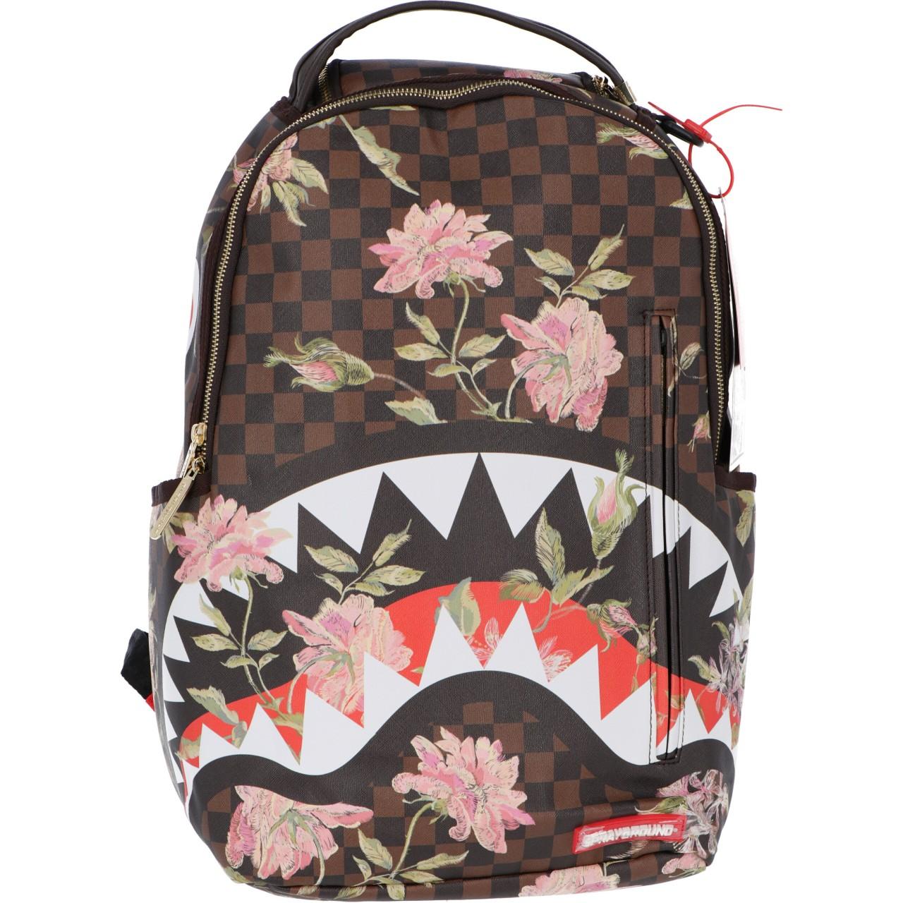 Sprayground Uomo Zaino Sprayground Shark Flower Backpack 2975O