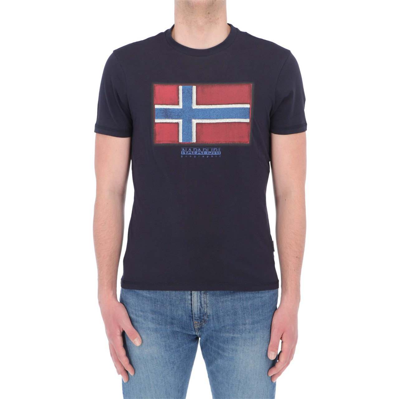 Napapijri Uomo T-shirt Napapijri Uomo Big Flag SIROLSSP